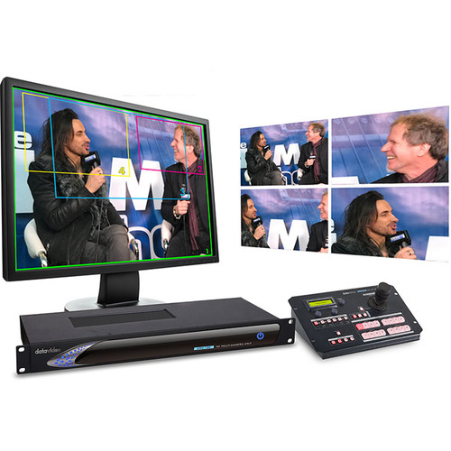 Datavideo Kit Includes KMU-100 4K for Multi-Camera Production And RMC-185 Control Unit