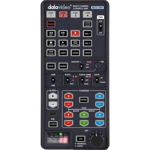 Datavideo MCU-100P Handheld Multi-Camera Controller for Panasonic Camcorders