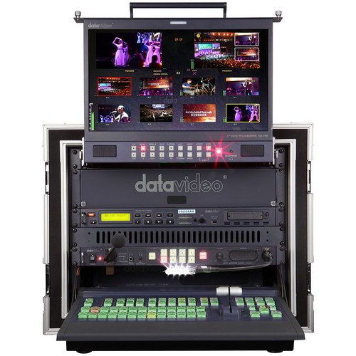 Datavideo MS-2800A 8-Channel HD/SD Mobile Video Studio Bundle