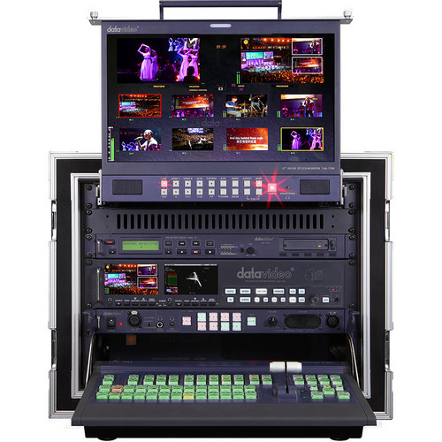 Datavideo MS-2800B 8-Channel HD/SD Mobile Video Studio Bundle
