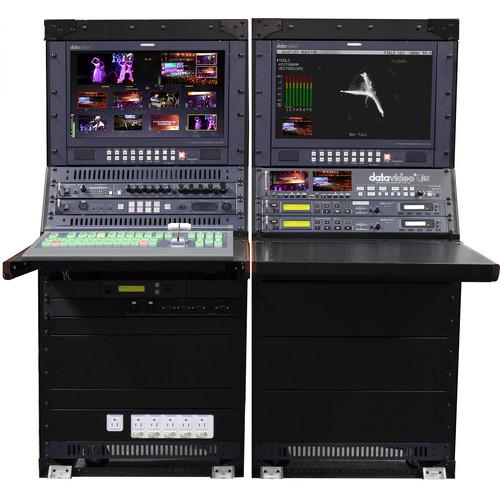 Datavideo SE-2850 8-Channel HD/SD-SDI Video Switcher Mobile Studio