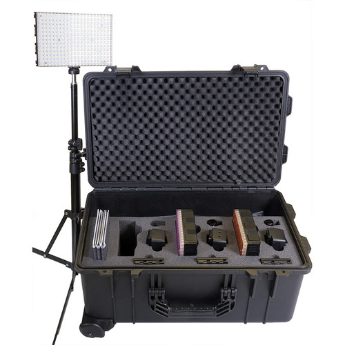 Datavideo Modular Dual Colour LED 3 Light Reporter Kit