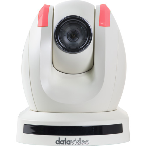 Datavideo PTC-150TW HD/SD-SDI HDBaseT PTZ Camera (with Receiver, White)