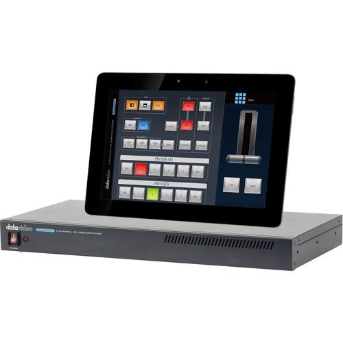 Datavideo 4 Input HDMI 1080p Video Switcher (1 RU)