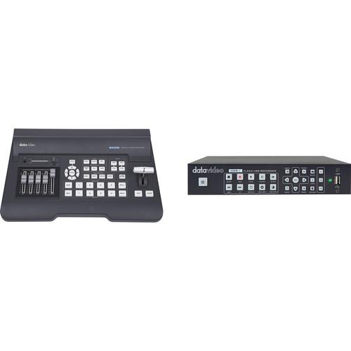 Datavideo SE-650 Video Switcher & HDR-1 Standalone USB Recorder Kit