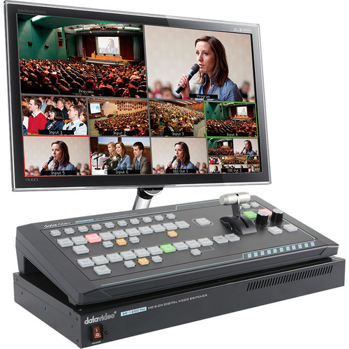 Datavideo SE-1200MU 6-Input Switcher and RMC-260 Controller Bundle