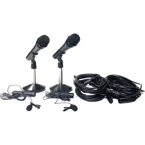 Datavideo The MC-100 Microphone Kit
