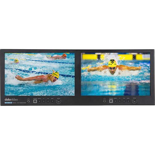 "Datavideo 10"" Dual IPS LCD Monitor"