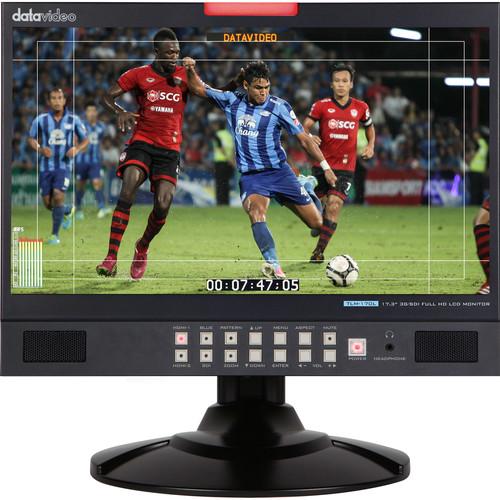 "Datavideo 17.3"" 3G-SDI Full HD LCD Desktop Monitor"