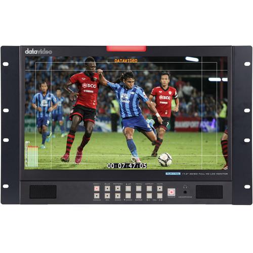 "Datavideo TLM-170LR 17.3"" Full HD Rackmount Monitor with 3G-SDI & HDMI"