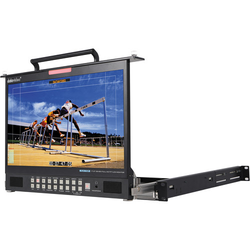 Datavideo TLM-170M 1RU Rack Pull-Out Monitor