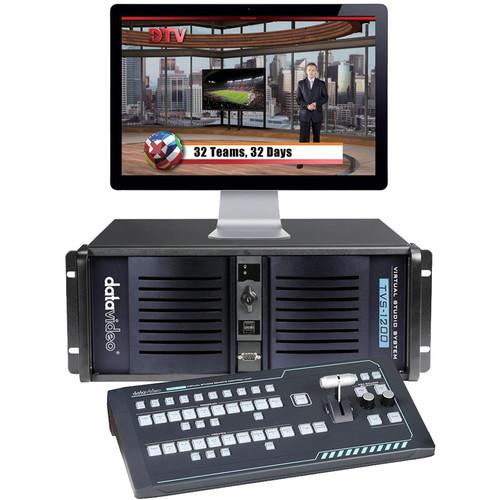 Datavideo TVS-1200 Trackless Virtual Studio System (SDI)