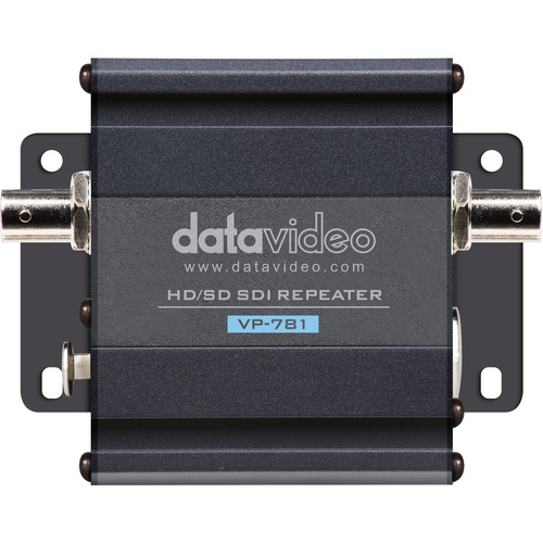 Datavideo HD/SD-SDI Repeater with Intercom Audio Pass-Through