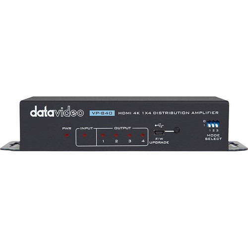 Datavideo 4K 1x4 HDMI Distribution Amplifier