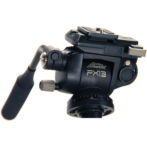 Davis & Sanford FX13 3-Way Fluid Head with Selectable Counterbalance for DSLR Camera