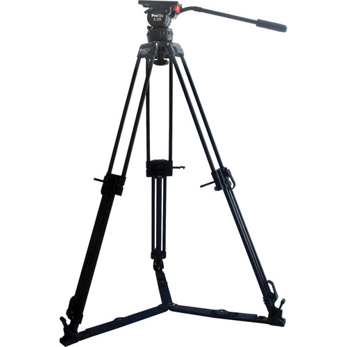 Davis & Sanford ProElite 100 mm Tripod with 5-25 Fluid Head and Two Spreaders