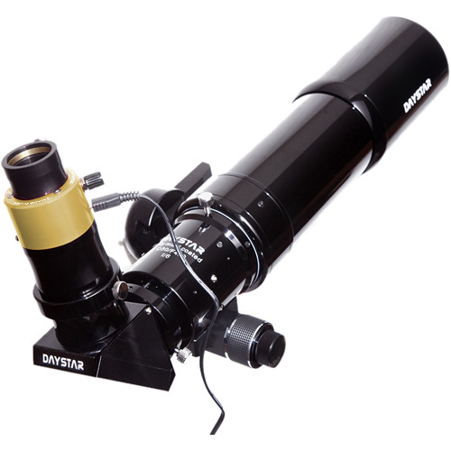 DayStar Filters 480E 80mm Refractor Telescope with Quark Sodium D-Line Filter Kit (OTA Only)