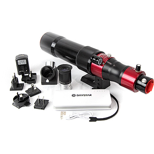 DayStar Filters Scout 60mm DS Chromosphere Solar Telescope Bundle (OTA Only)