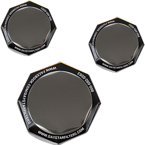 DayStar Filters White-Light ULF Solar Combo Pack for Binoculars/Camera (Two 50mm, One 90mm)