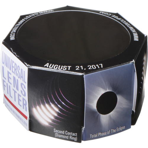 DayStar Filters 70mm White-Light Universal Lens Solar Filter (2-Pack, 65-89mm OD)