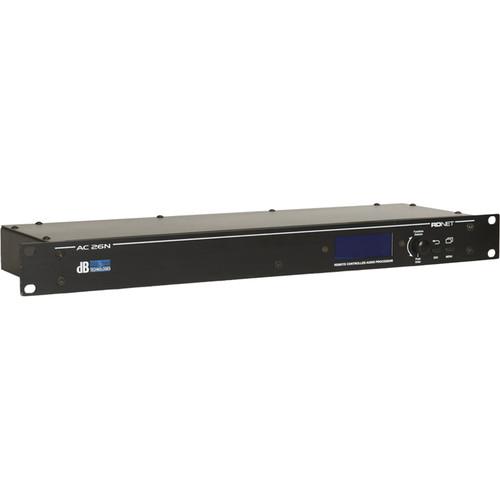 dB Technologies AC26N Digital Audio Controller for Loudspeakers Processing