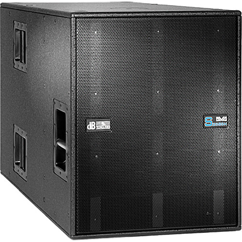 "dB Technologies DVA S2585N Active 2500W 15"" + 18"" Subwoofer"