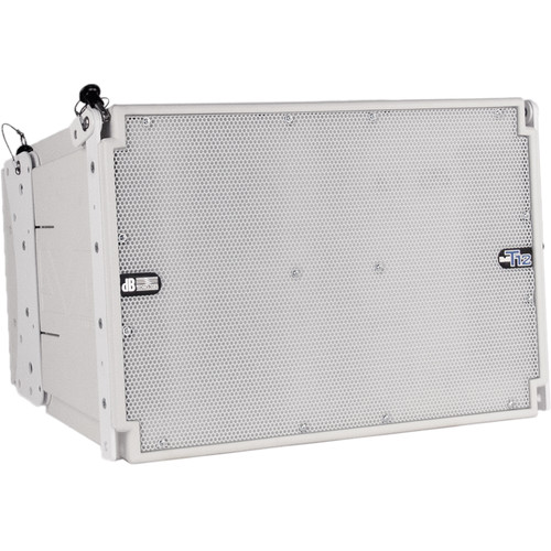 dB Technologies DVA T12 Active 3-Way Line-Array Module (White)