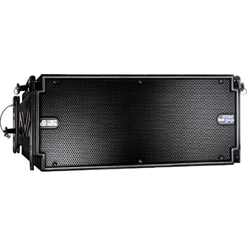 dB Technologies DVA T4 3-Way 420W Active Line-Array Module (Black)