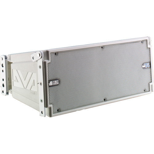 dB Technologies DVA T4 3-Way 420W Active Line-Array Module (White)