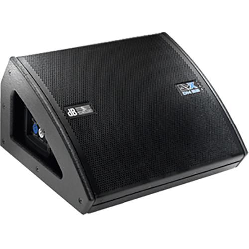 "dB Technologies DVX DM28 2-Way 750W Active 2x8"" Stage Monitor"