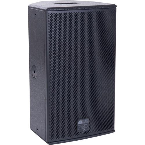 "dB Technologies DVX P10 10"" 2-Way Passive Speaker (Black)"
