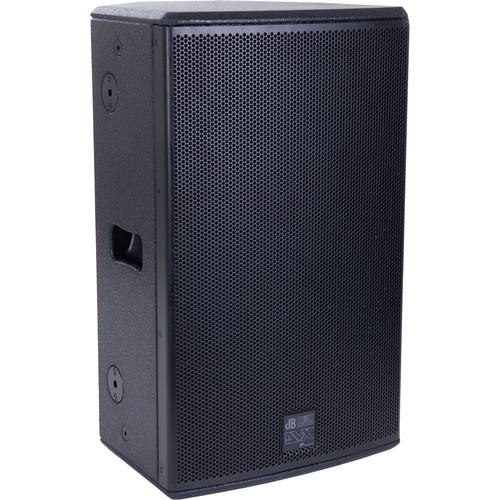 "dB Technologies DVX P12 12"" 2-Way Passive Speaker (Black)"