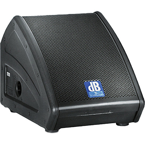 "dB Technologies FLEXSYS FM8 8"" 200W Active Coaxial Stage Monitor Wedge"