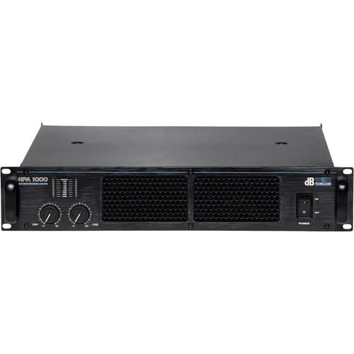 dB Technologies HPA 1000 Amplifier (2 x 510W RMS)