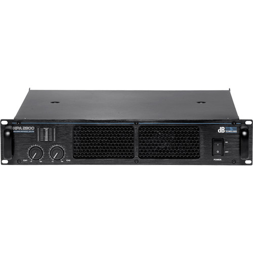 dB Technologies HPA 2800 Amplifier (2 x 1050W RMS)