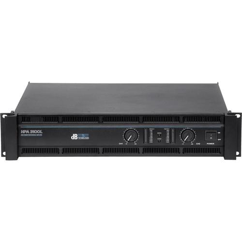 dB Technologies HPA 3100L Amplifier (2 x 1200W RMS)