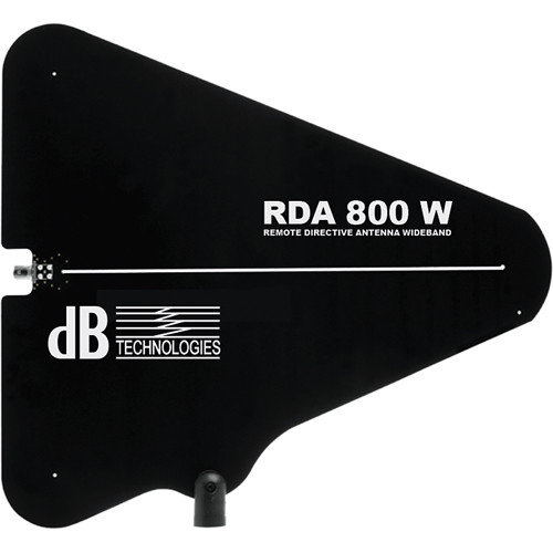 dB Technologies Directive Passive UHF Antenna for Moving D Touring Rack System