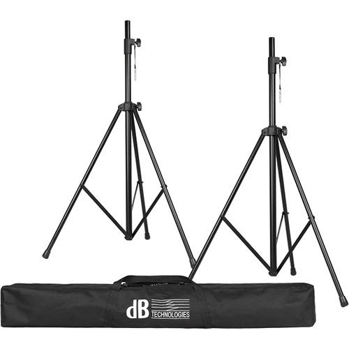 dB Technologies SK-25-TT Tripod Kit with Two Telescopic Tripod Speaker Stands and Bag