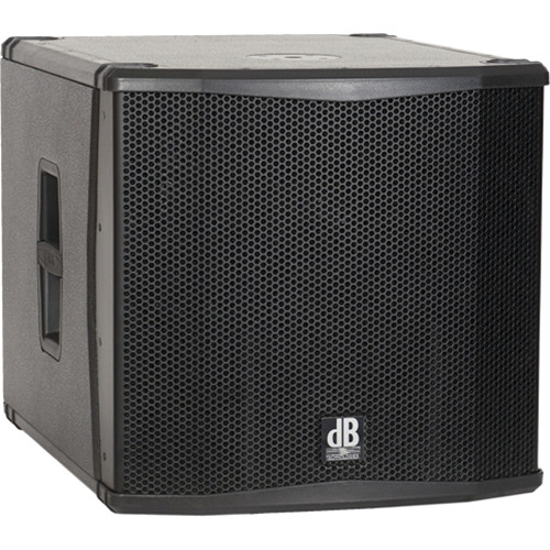 """dB Technologies SUB 15H Semi Horn-Loaded Active Class-D Subwoofer (15"""", Black)"""