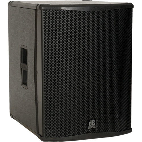 "dB Technologies SUB 18H Semi Horn-Loaded Active Class-D Subwoofer (18"", Black)"