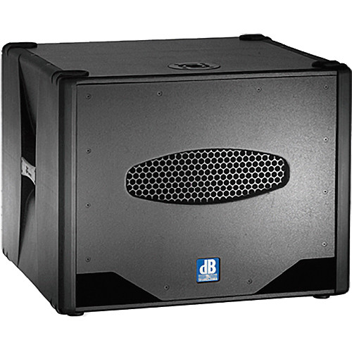 "dB Technologies Sub 808D 18"" 800W Active Subwoofer"