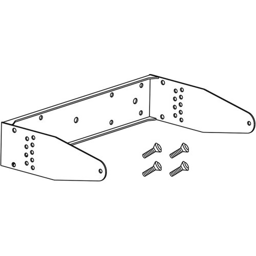 dB Technologies Horizontal Mounting Bracket for LVX 15 Speaker (White)