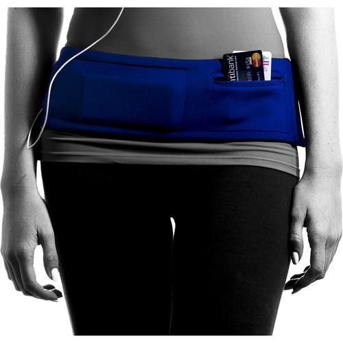 DBelt PRO Smartphone Fitness Belt (Small, Royal)