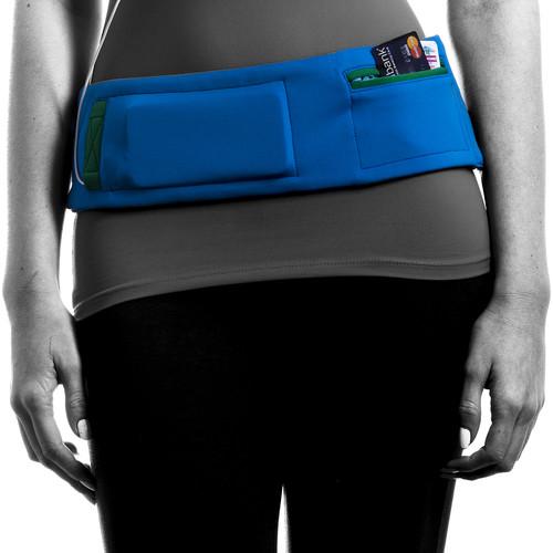 DBelt PRO Smartphone Fitness Belt (Small, Ocean)