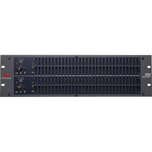 dbx 1231 - Dual Channel 31-Band Graphic Equalizer