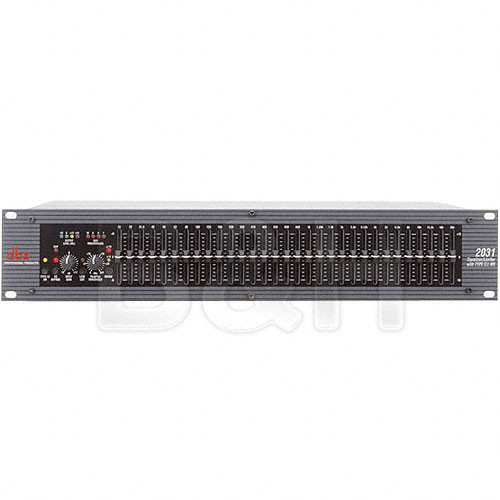 dbx 2031 - Single Channel 31-Band Graphic Equalizer