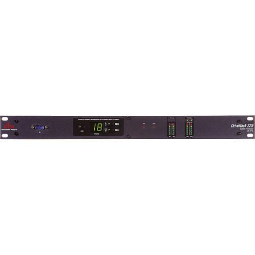 dbx DriveRack 220i System Processor