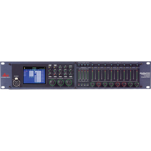dbx DriveRack 4800TI Management System with Jensen Input Transformers