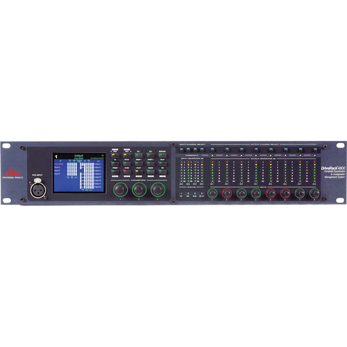 dbx DriveRack 4800TO Management System with Jensen Output Transformers
