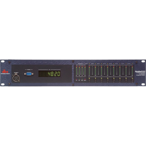 dbx DriveRack 4820TO Loudspeaker Management System with Jensen Output Transformers